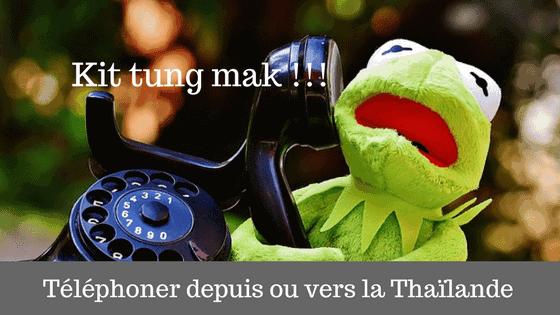 e2598f8afa7b Téléphoner depuis ou vers la Thaïlande