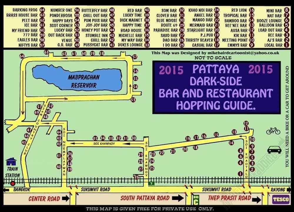 Carte Restaurant Le Pattaya