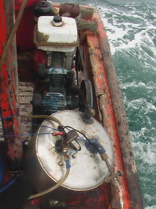 Les crochets pour la pêche maritime les montants