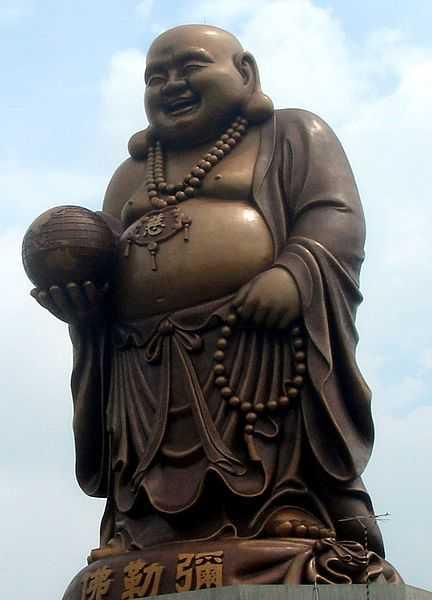 Très Représentation de Bouddha, le gros et le maigre YI34