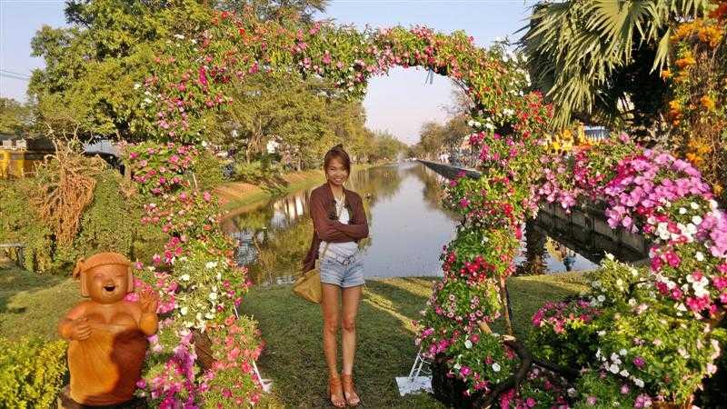 Le festival des fleurs ou fête des fleurs de Chiang Mai