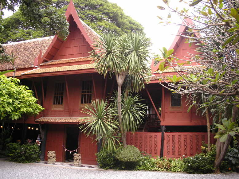 La maison de Jim Thomson à Bangkok